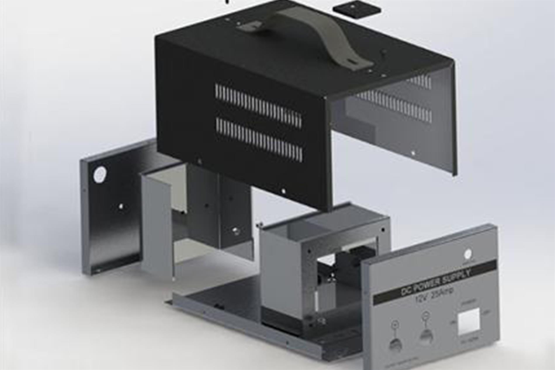 تولید باکس های فلزی به وسیله برش های لیزری - گروه صنعتی ایران فلز