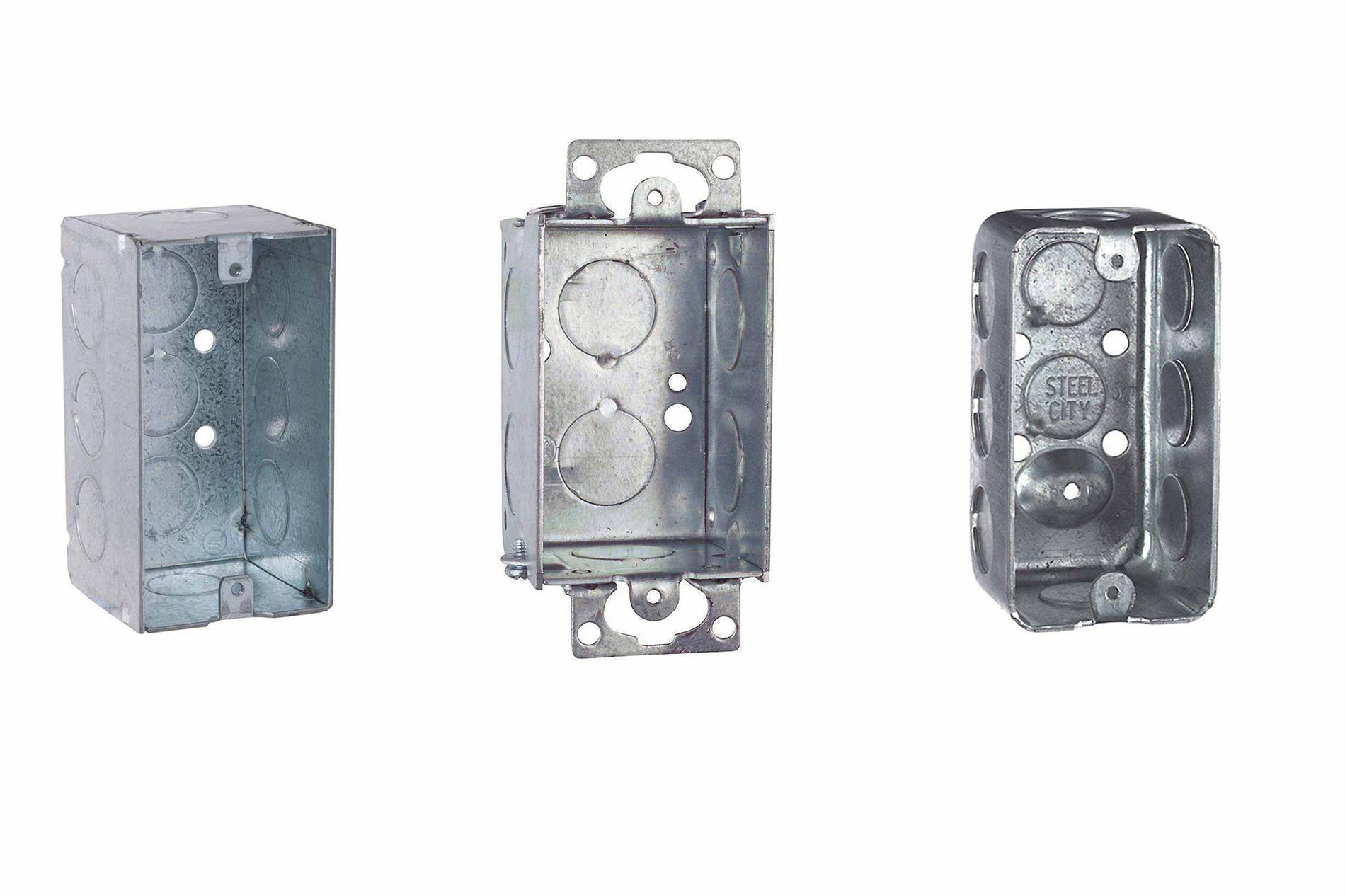 انواع مختلف باکس های فلزی  - گروه صنعتی ایران فلز